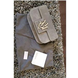 Alexander Mcqueen grey crossbody bag